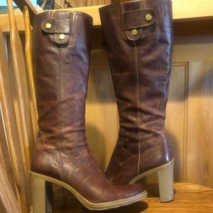 Gianni Bini Loden Leather Boots